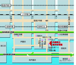 Ashiya_marine_gymnasium_map_2