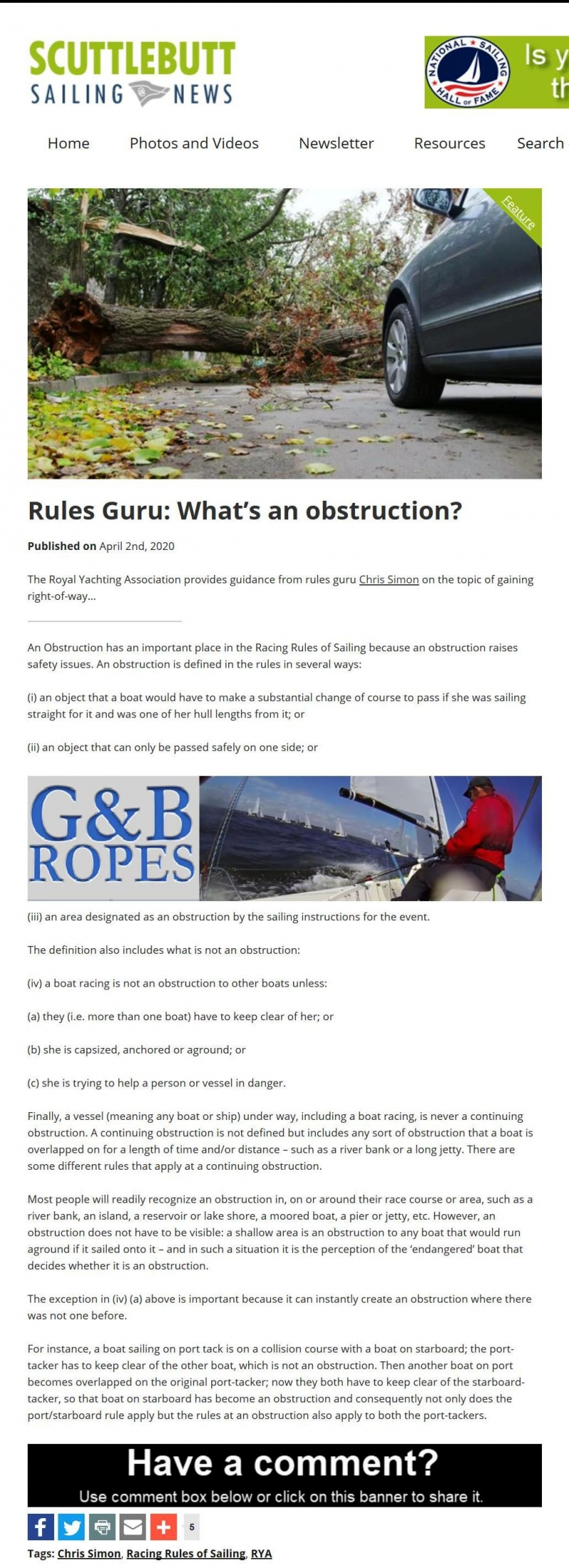 Rulesguru_whatsanobstruction_scuttlebutt